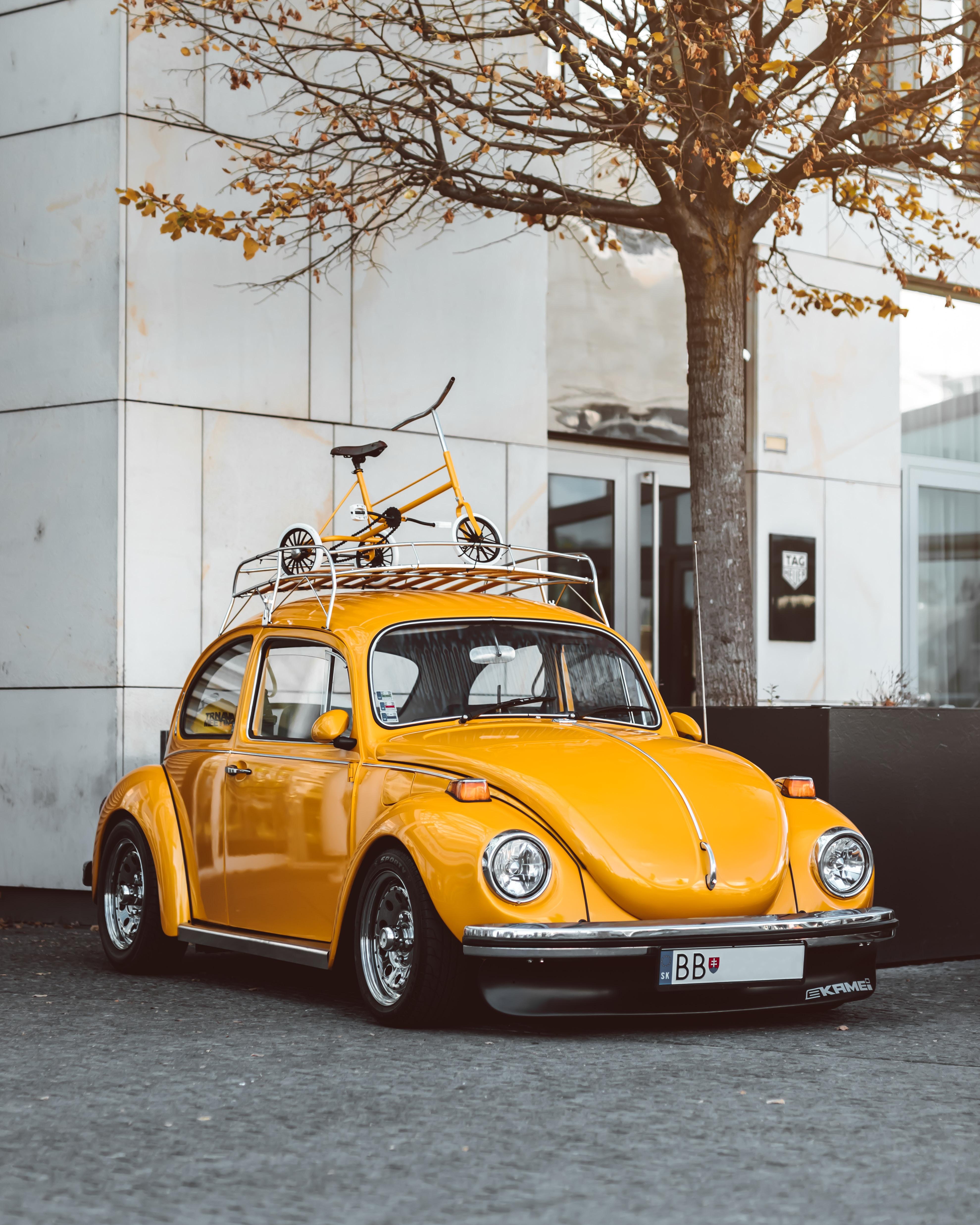 119702 download wallpaper Volkswagen, Cars, Car, Retro, Volkswagen Beetle screensavers and pictures for free