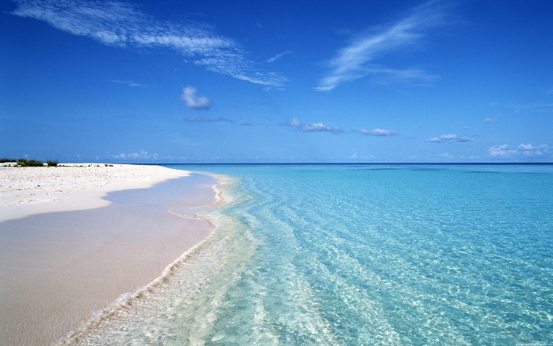 27820 скачать обои Пляж, Пейзаж, Море, Облака - заставки и картинки бесплатно