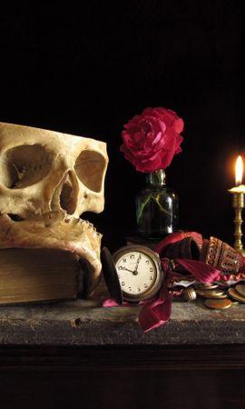 18595 скачать обои Фон, Смерть, Натюрморт - заставки и картинки бесплатно