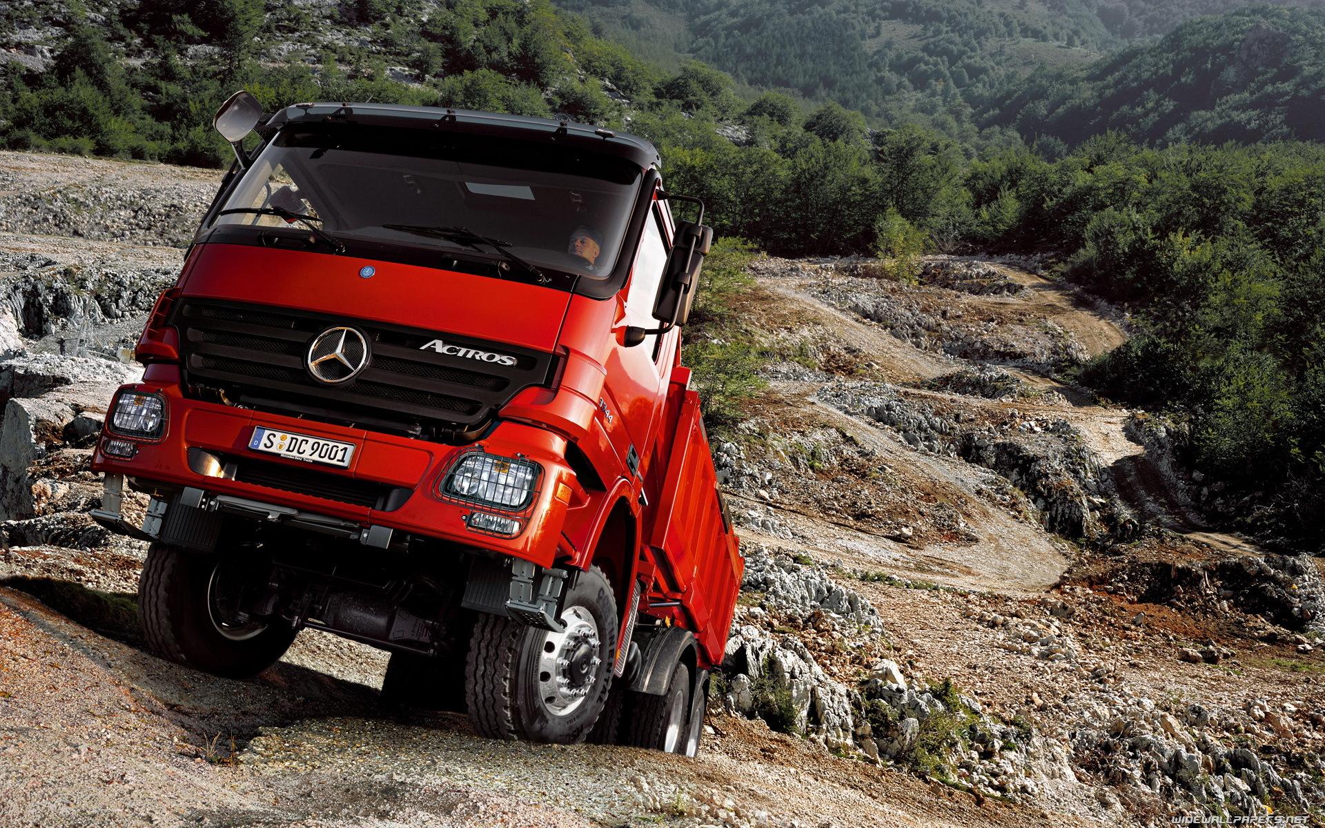 45121 скачать обои Транспорт, Мерседес (Mercedes), Грузовики - заставки и картинки бесплатно