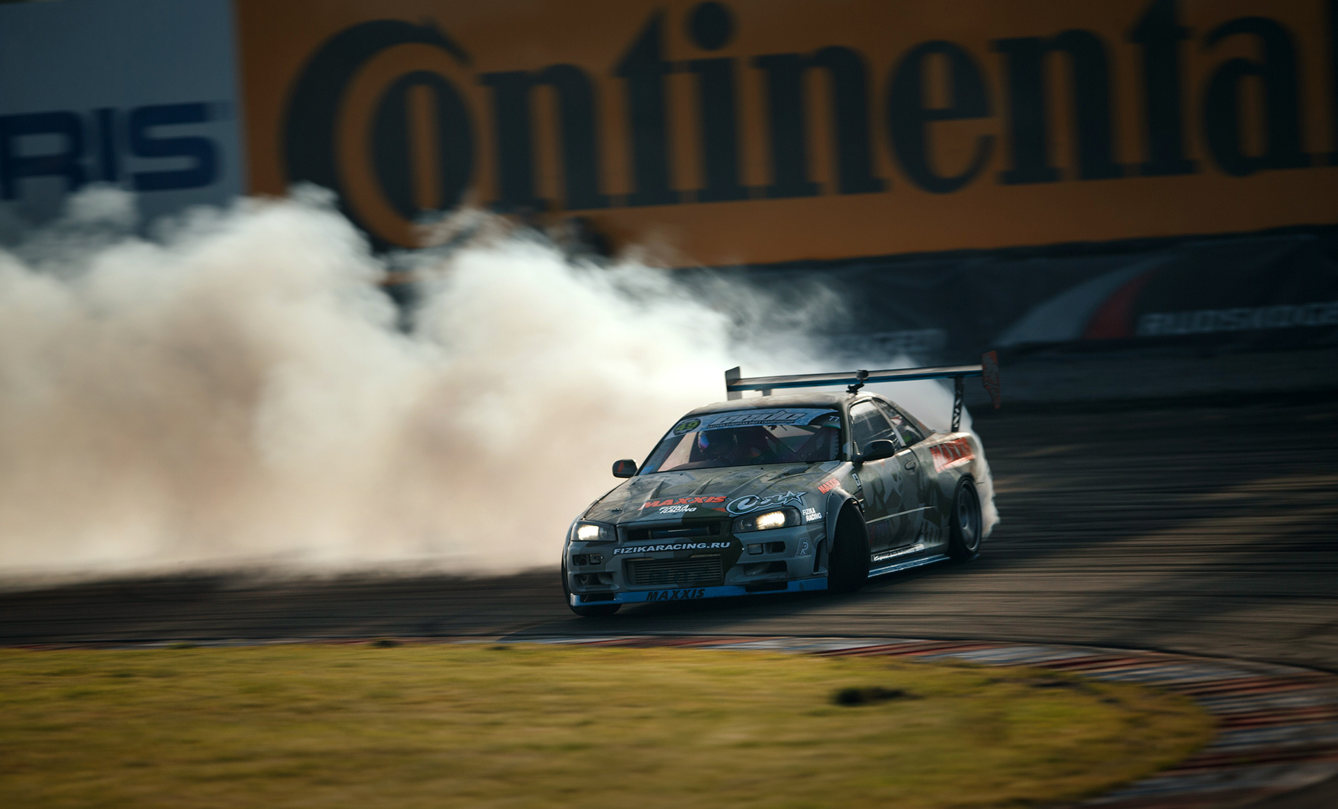 64698 download wallpaper Nissan, Cars, Drift, Gtr, Skyline, R34 screensavers and pictures for free