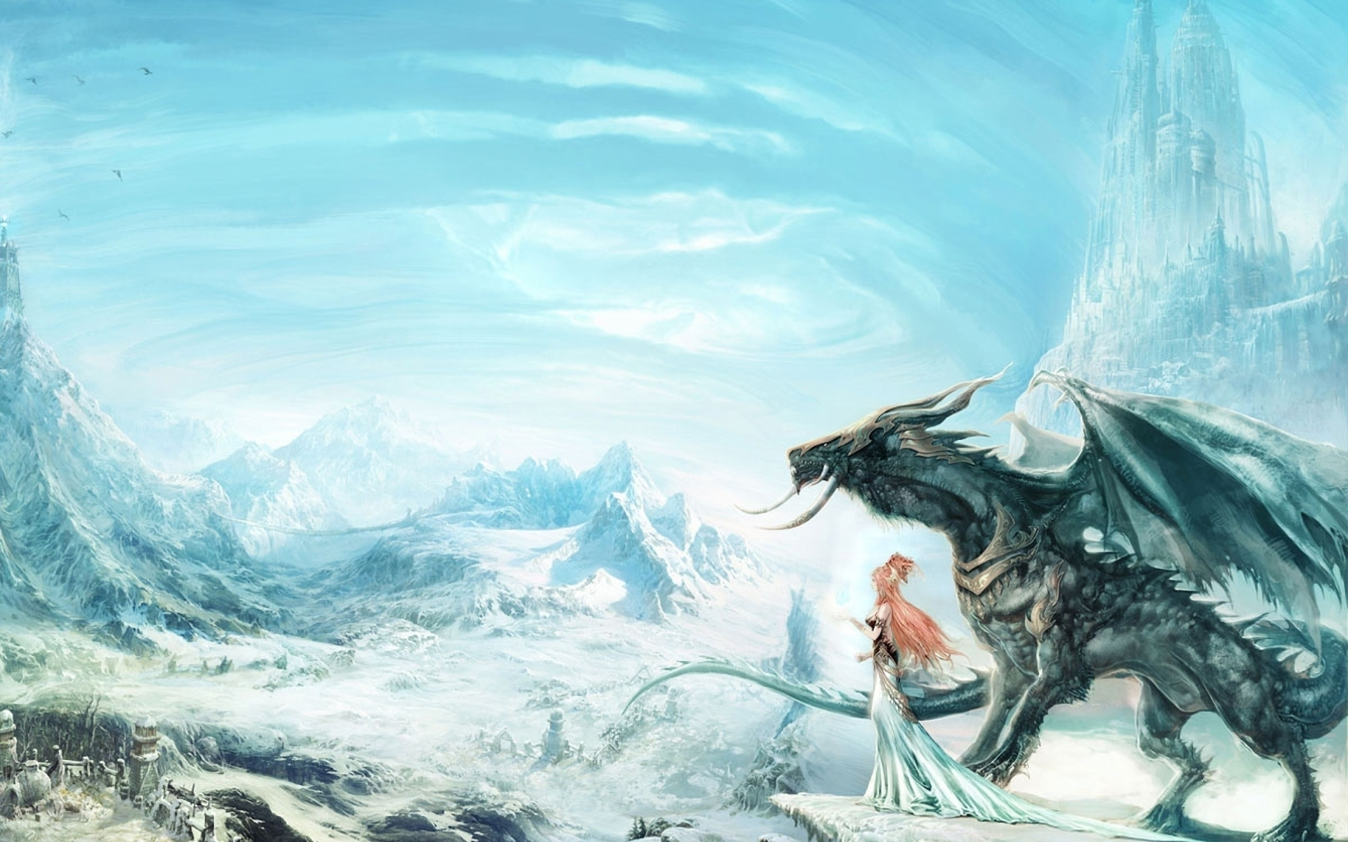 40602 Screensavers and Wallpapers Dragons for phone. Download Fantasy, Dragons pictures for free