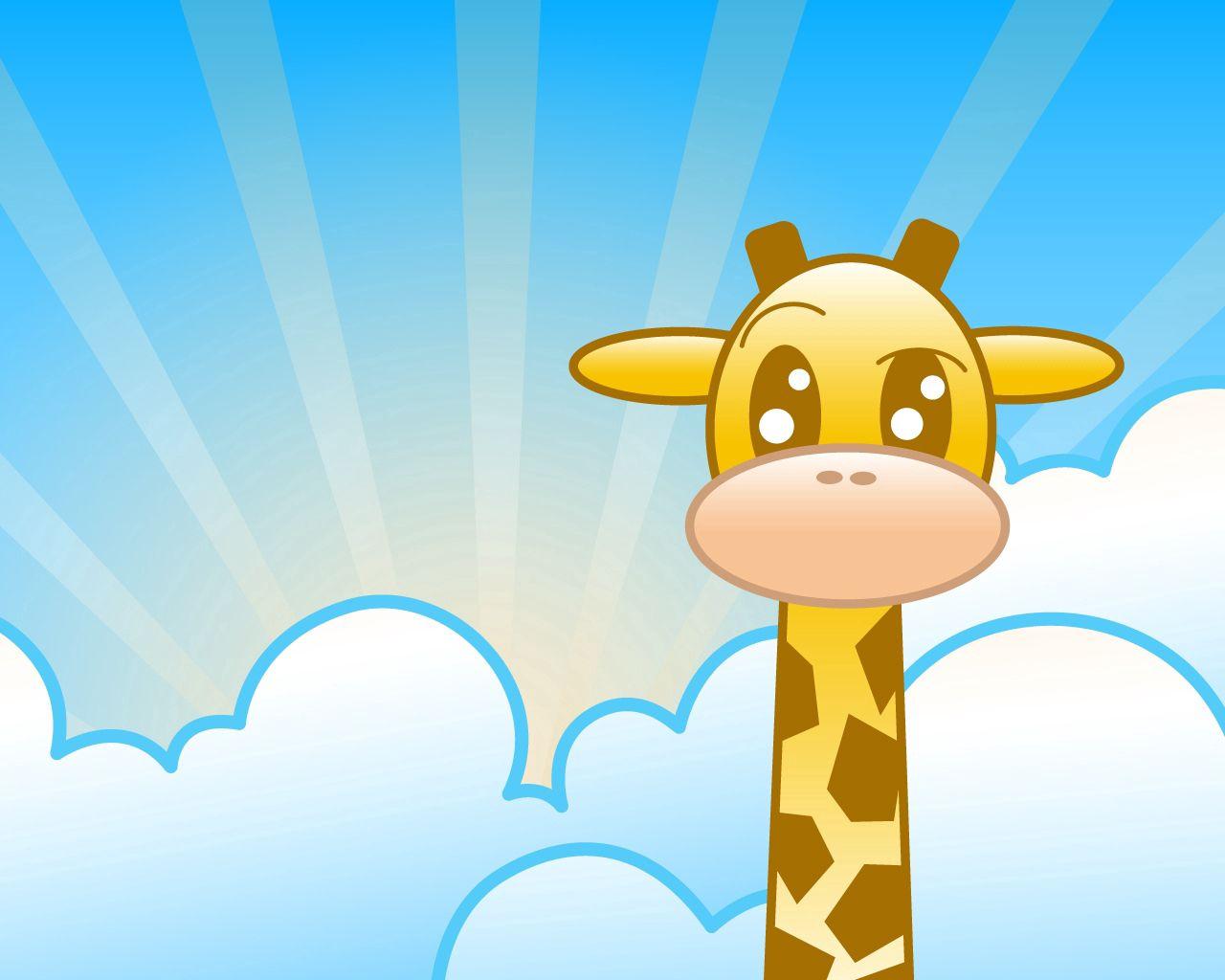 手機的107181屏保和壁紙卡通。 免費下載 向量, 矢量, 长颈鹿, 云, 线, 图片, 图 10, 卡通片, 卡通 圖片