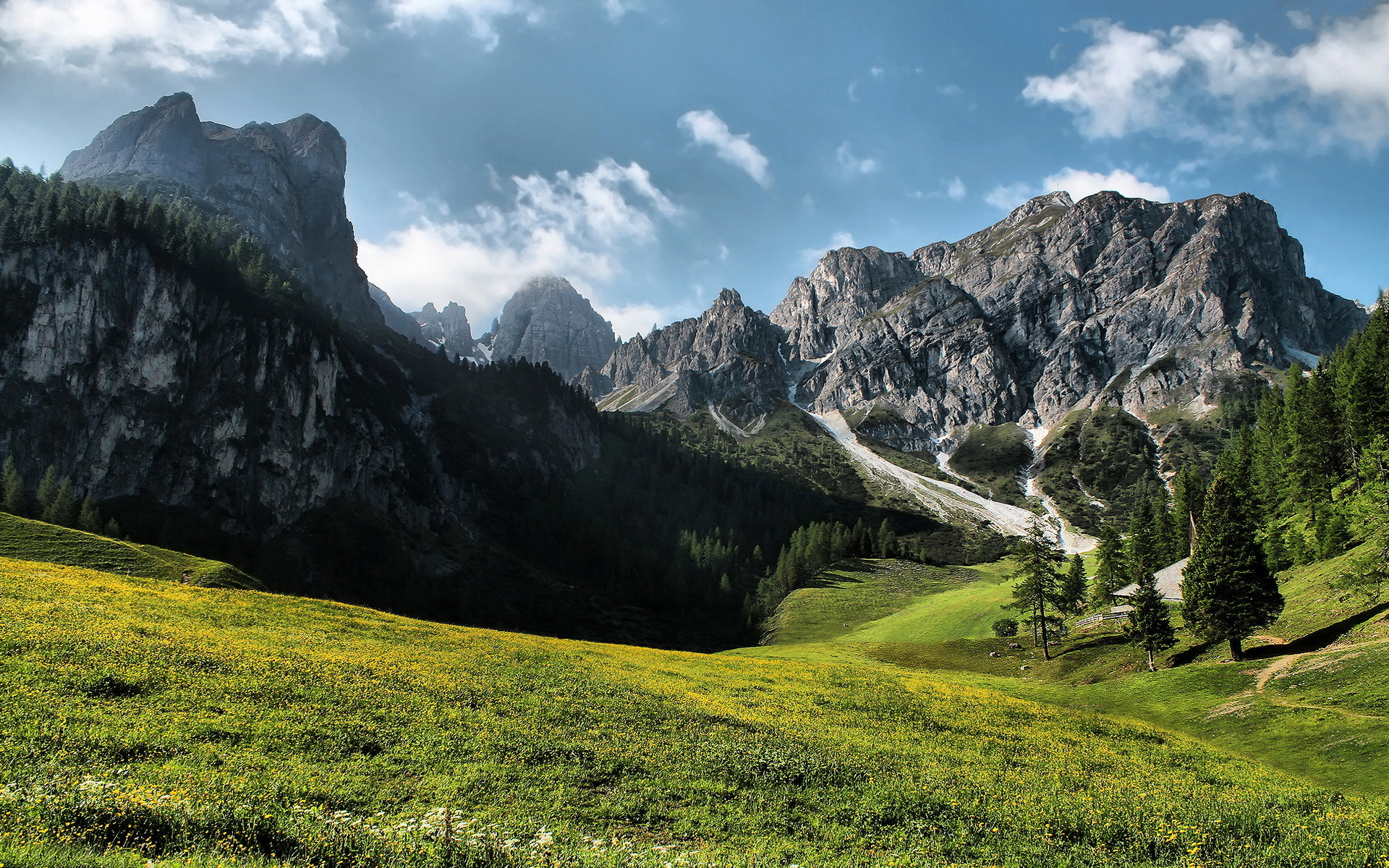 33025 download wallpaper Landscape, Mountains screensavers and pictures for free