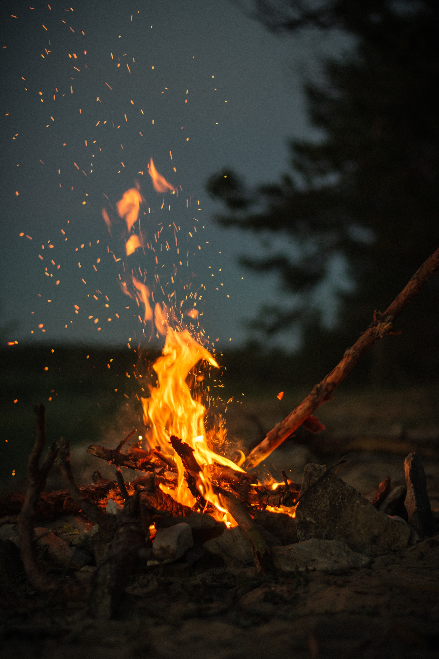 85522 Screensavers and Wallpapers Bonfire for phone. Download Fire, Miscellaneous, Camping, Stones, Bonfire, Miscellanea, Campsite, Sticks, Stick pictures for free