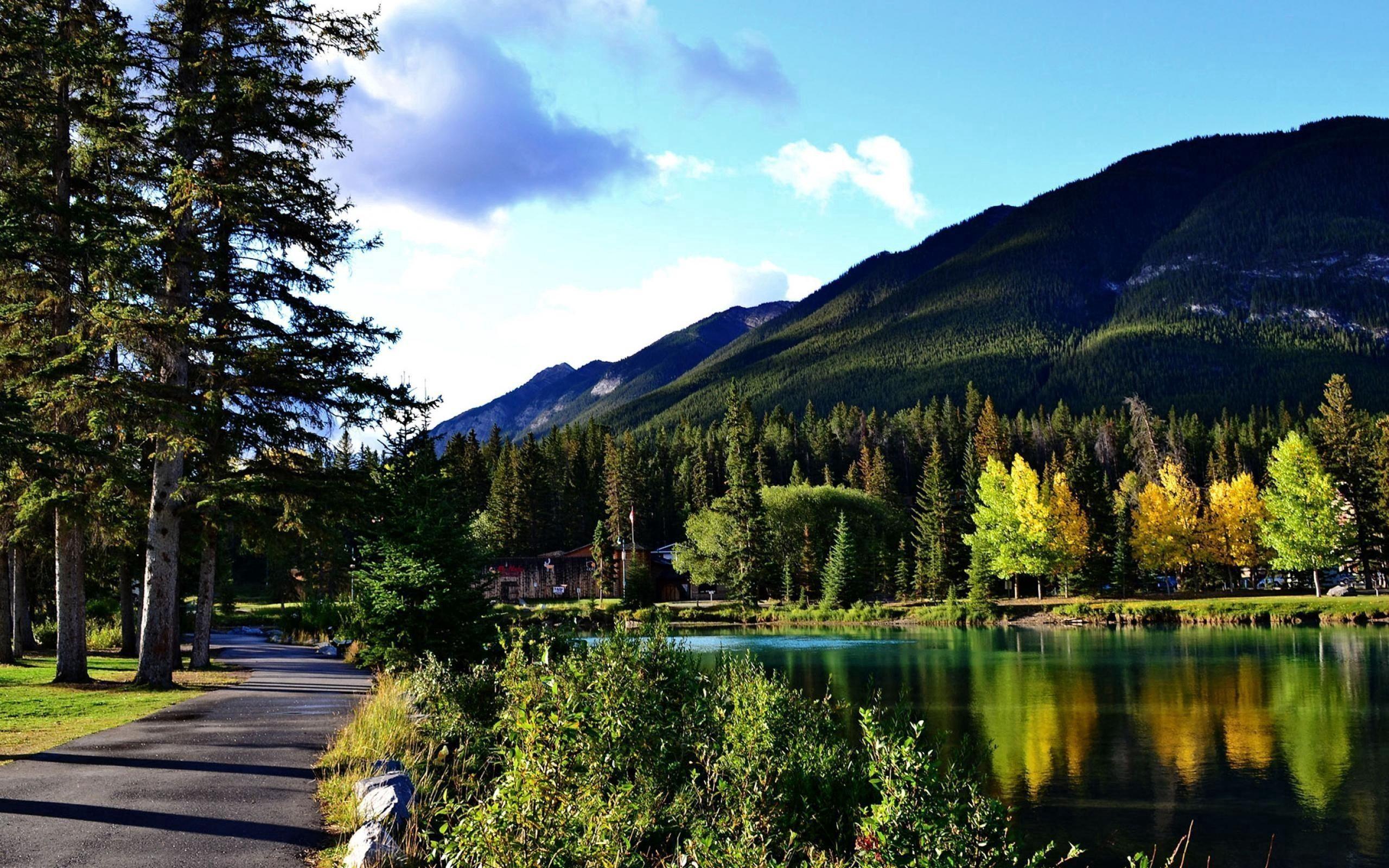 153425 fond d'écran 540x960 sur votre téléphone gratuitement, téléchargez des images Rivières, Nature, Canada, Parc National Banff, Du Canada 540x960 sur votre mobile