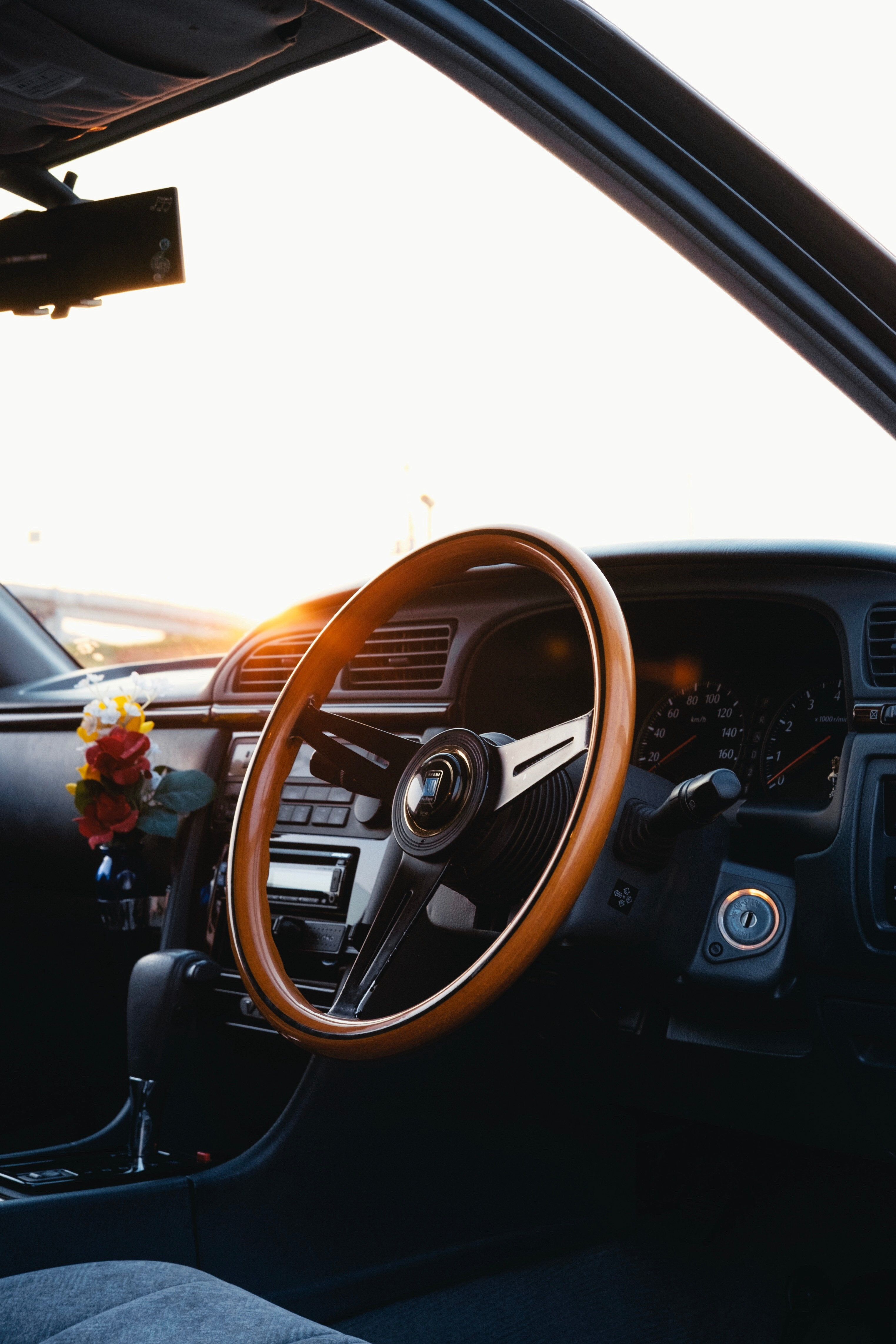63494 Screensavers and Wallpapers Interior for phone. Download Interior, Cars, Car, Machine, Steering Wheel, Rudder, Salon, Panel pictures for free