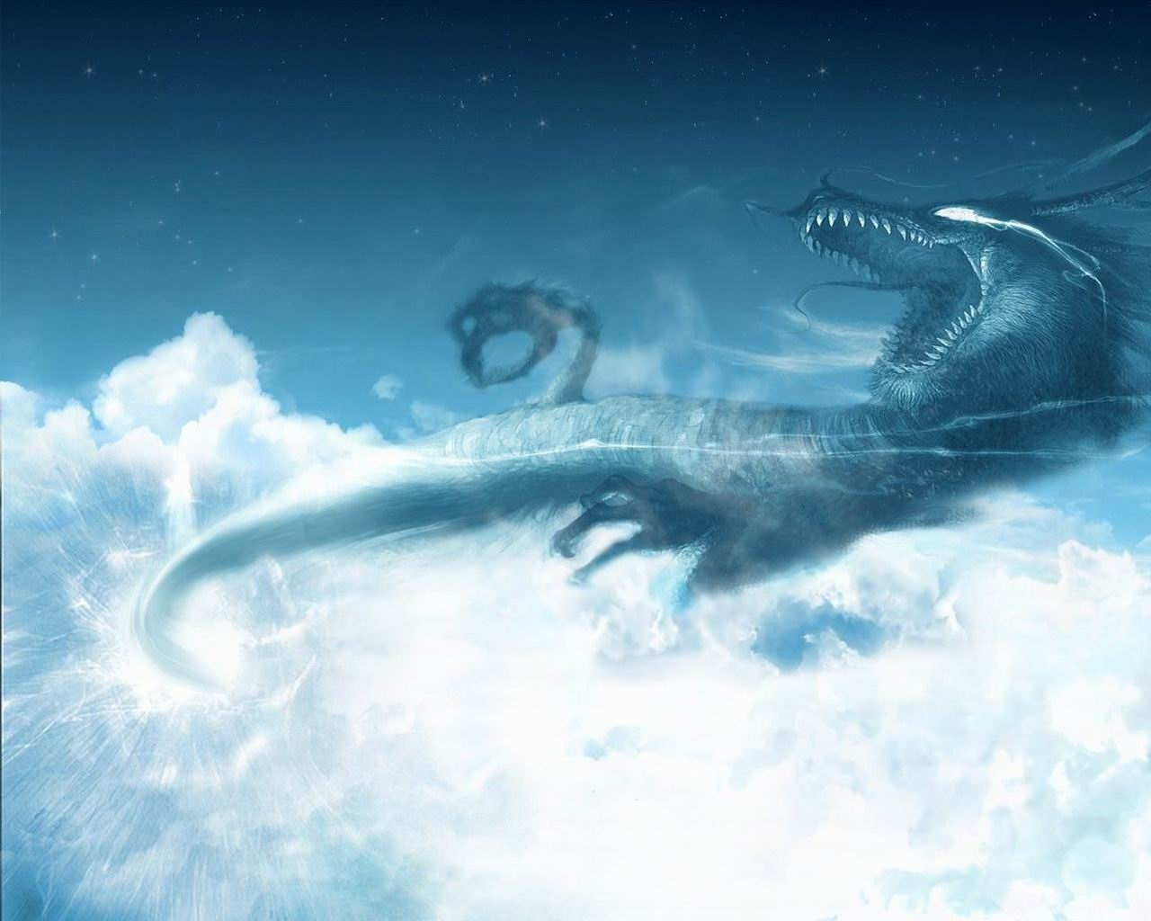 5287 download wallpaper Sky, Dragons, Pictures screensavers and pictures for free