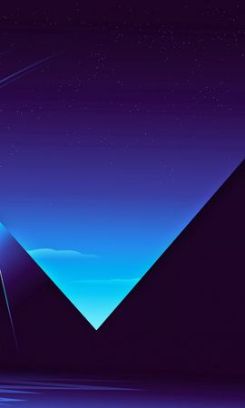 64370 Screensavers and Wallpapers Dark for phone. Download Vector, Starry Sky, Night, Dark, Pyramids pictures for free