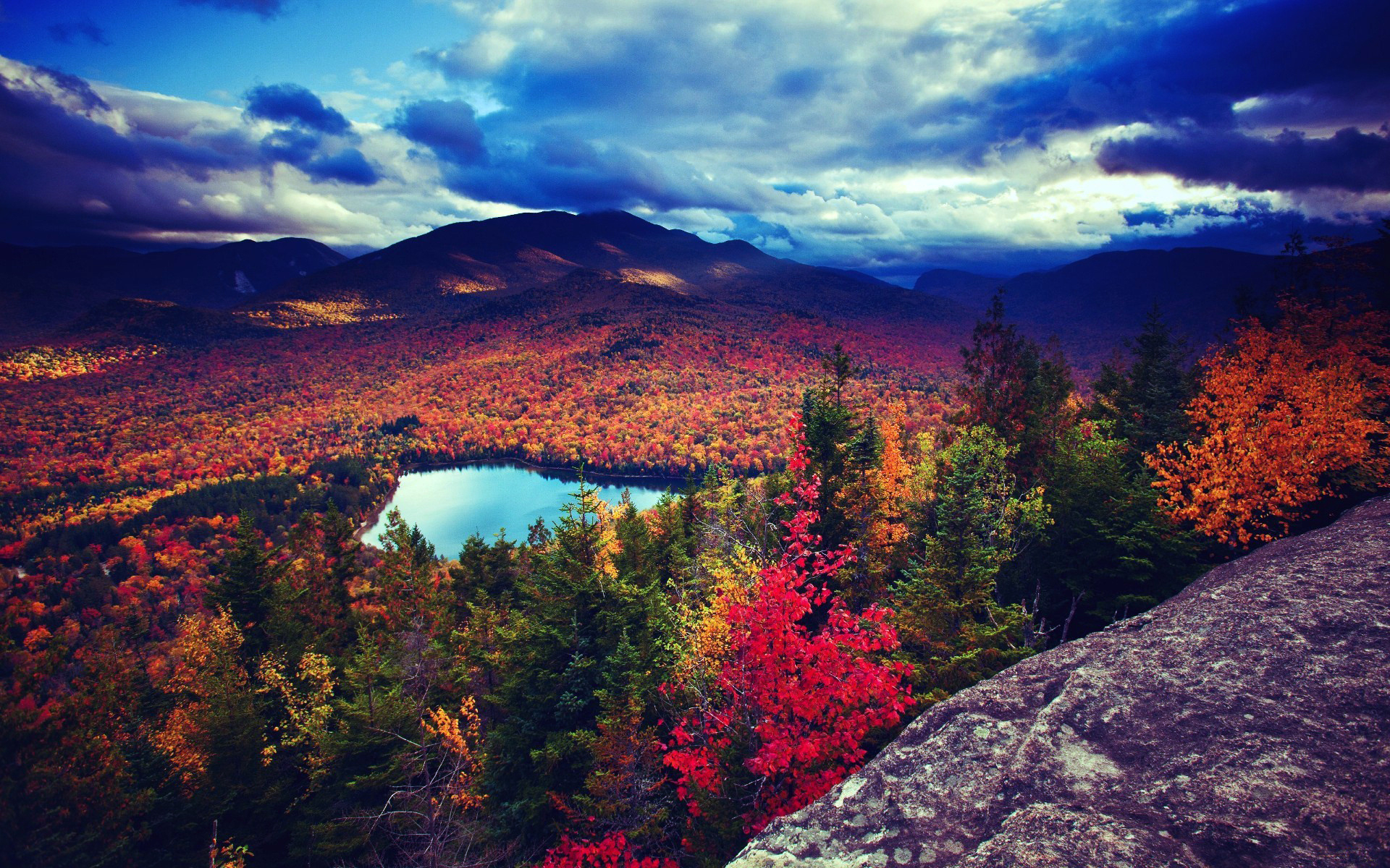 29706 download wallpaper Landscape, Trees, Autumn, Lakes screensavers and pictures for free