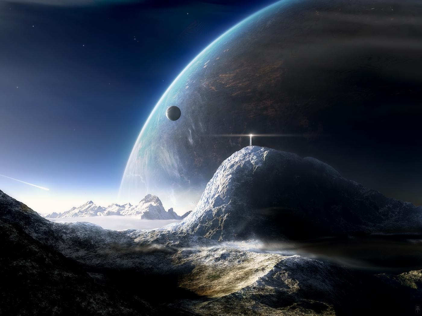 38365 скачать обои Фэнтези, Планеты, Космос - заставки и картинки бесплатно