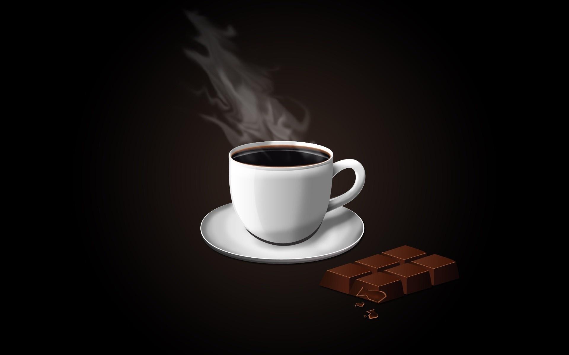 20261 скачать обои Еда, Шоколад, Напитки, Кофе - заставки и картинки бесплатно