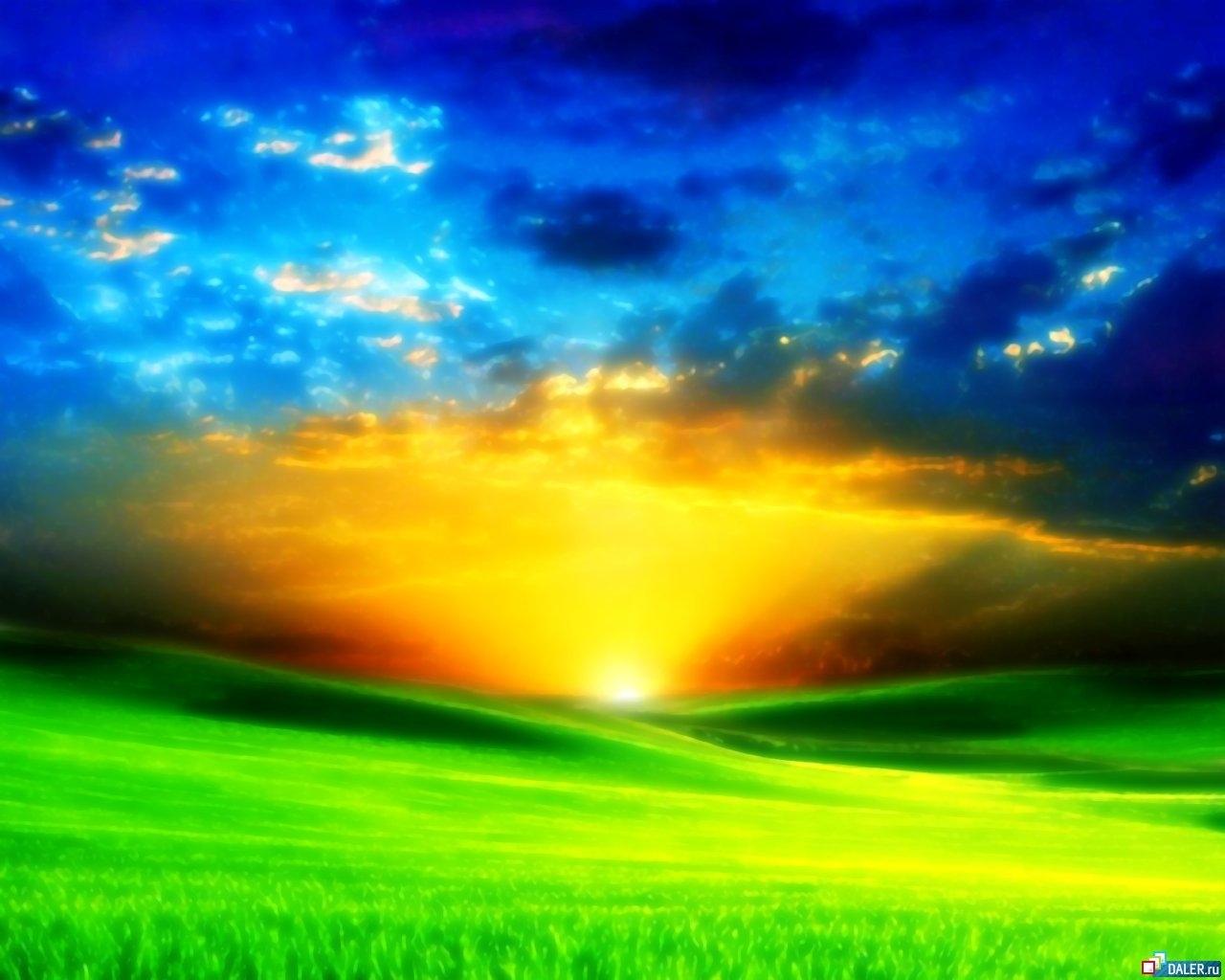 6947 скачать обои Пейзаж, Закат, Солнце - заставки и картинки бесплатно
