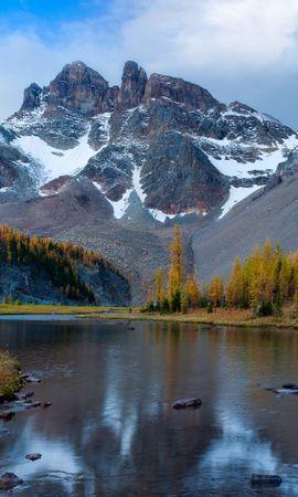 87124 Salvapantallas y fondos de pantalla Nieve en tu teléfono. Descarga imágenes de Naturaleza, Ríos, Nieve, Invierno, Montañas gratis