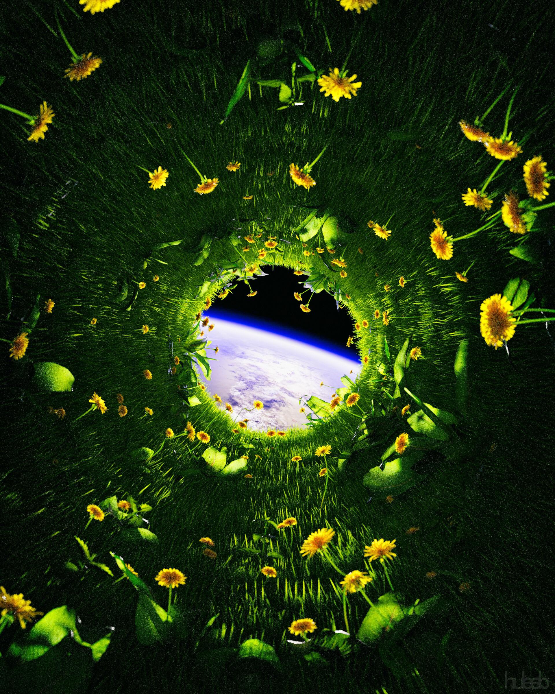 135207 скачать обои Одуванчики, Цветы, Трава, Космос, Разное, Земля - заставки и картинки бесплатно
