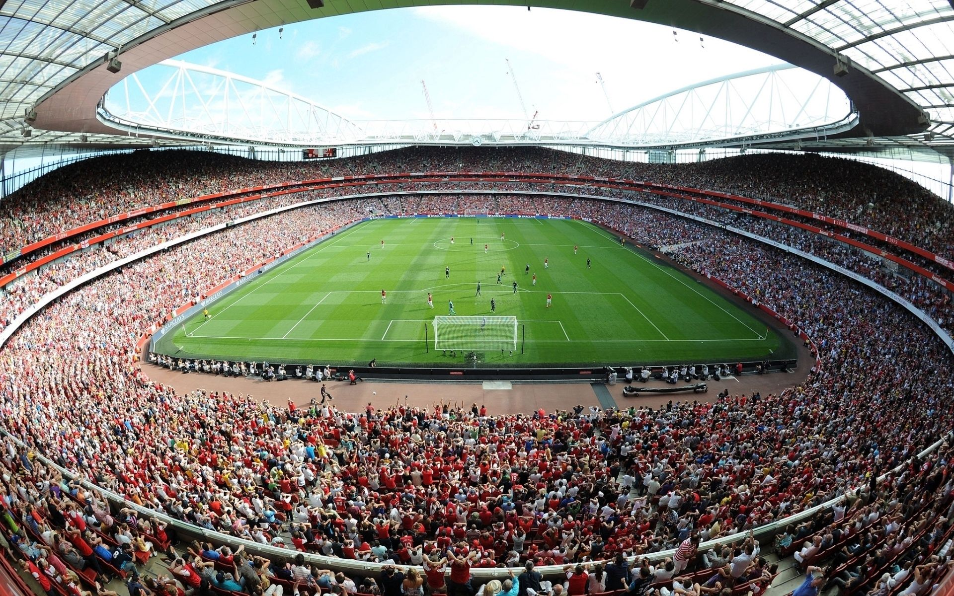 141881 download wallpaper Sports, Field, Stadium, Emirates screensavers and pictures for free