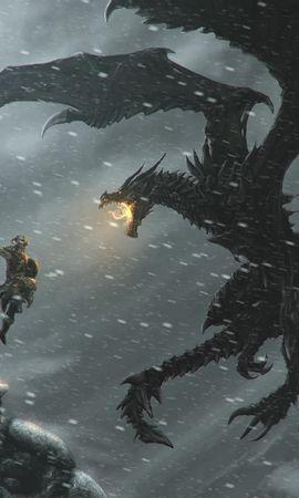 34946 télécharger le fond d'écran Jeux, Dragons, Elder Scrolls - économiseurs d'écran et images gratuitement