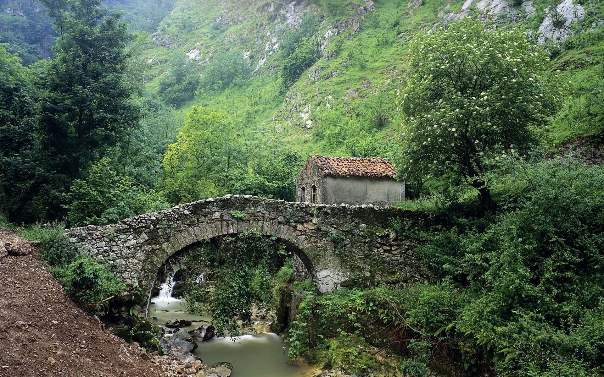 48944 скачать обои Пейзаж, Природа, Мосты - заставки и картинки бесплатно