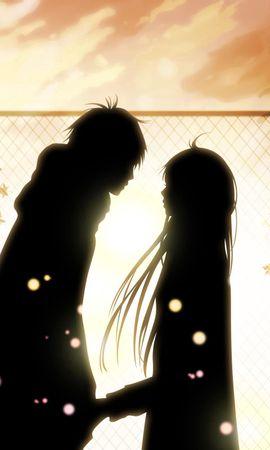 124477 download wallpaper Anime, Kimi Ni Todoke, Girl, Guy, Love, Feelings, Meeting, Date screensavers and pictures for free