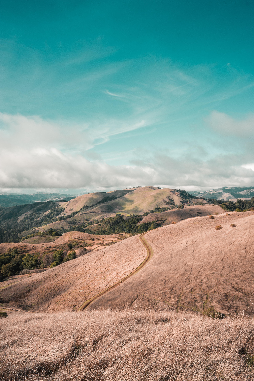62126 免費下載壁紙 性质, 山丘, 丘陵, 路, 从上面看, 顶视图, 景观 屏保和圖片