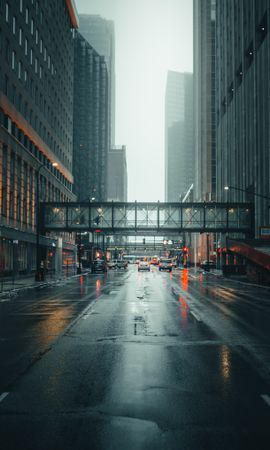 88303 Screensavers and Wallpapers Architecture for phone. Download City, Street, Fog, Traffic, Movement, Architecture, Cities pictures for free
