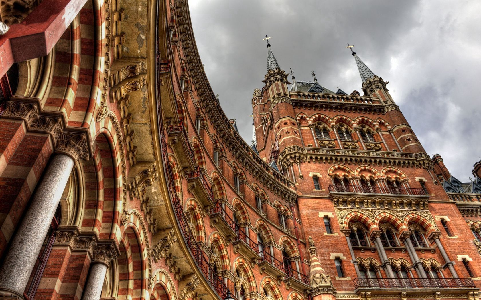 75059 Screensavers and Wallpapers London for phone. Download Cities, London, Building, Station, Railway Station, England, Station Building pictures for free