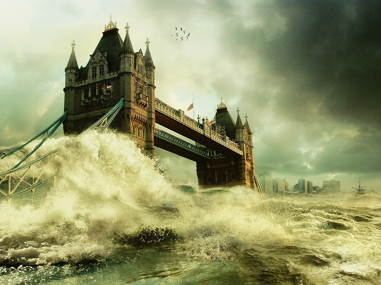 1475 download wallpaper Art, Sea, Architecture screensavers and pictures for free