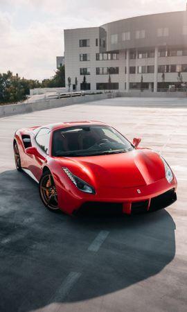 107287 télécharger le fond d'écran Voitures, Ferrari 458, Ferrari, Voiture, Voiture De Sport, Sportif, Vue De Côté, Phares, Lumières - économiseurs d'écran et images gratuitement