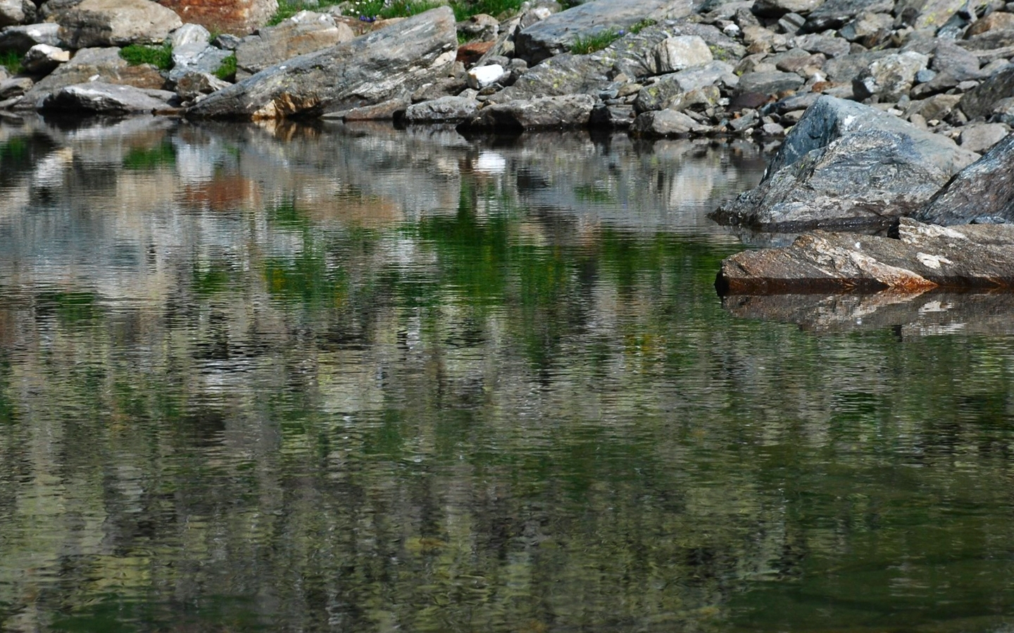 7909 download wallpaper Landscape, Nature, Stones, Lakes screensavers and pictures for free