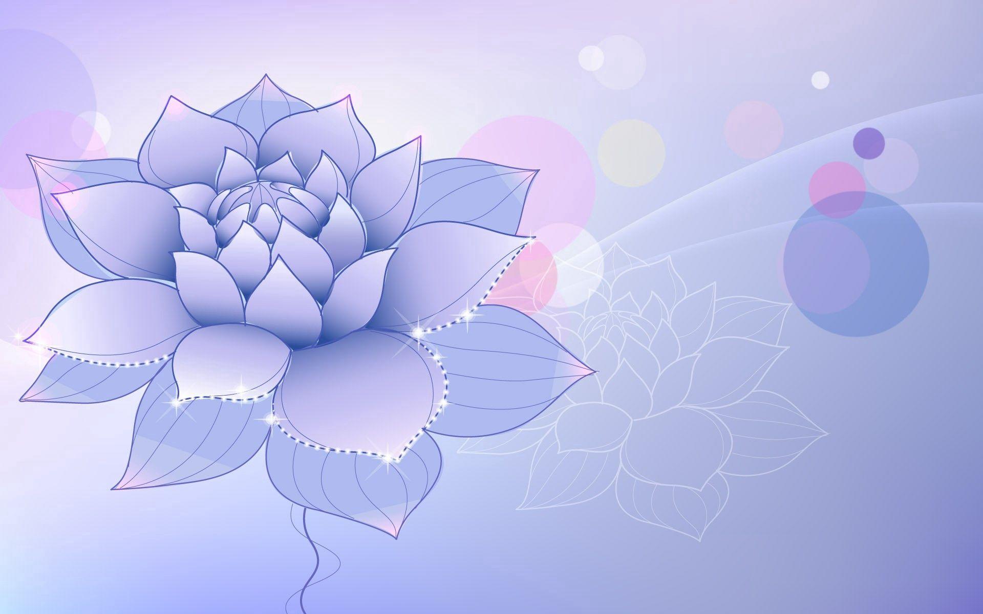 115537 baixar papel de parede Abstrato, Lilás, Flor, Foto, Desenho - protetores de tela e imagens gratuitamente