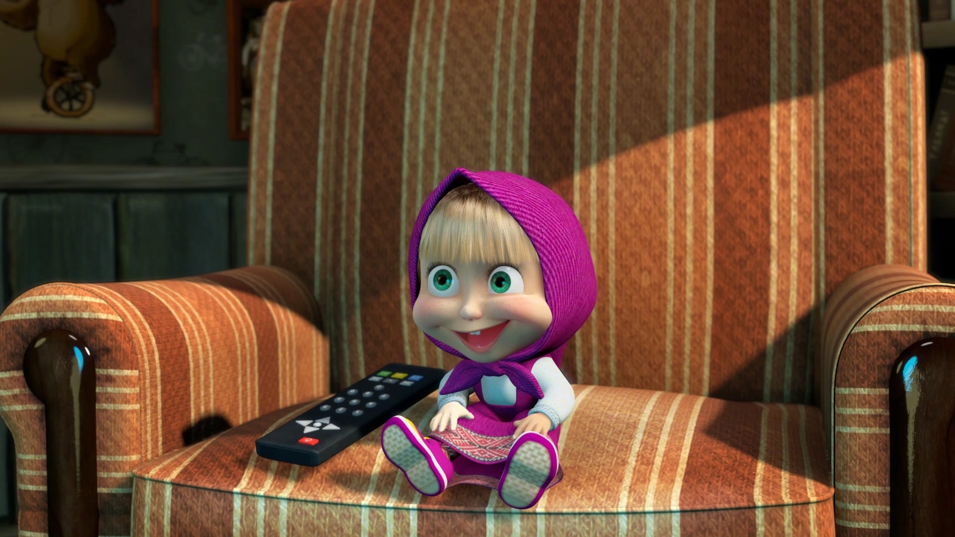 26993 Screensavers and Wallpapers Masha And The Bear for phone. Download Masha And The Bear, Cartoon pictures for free