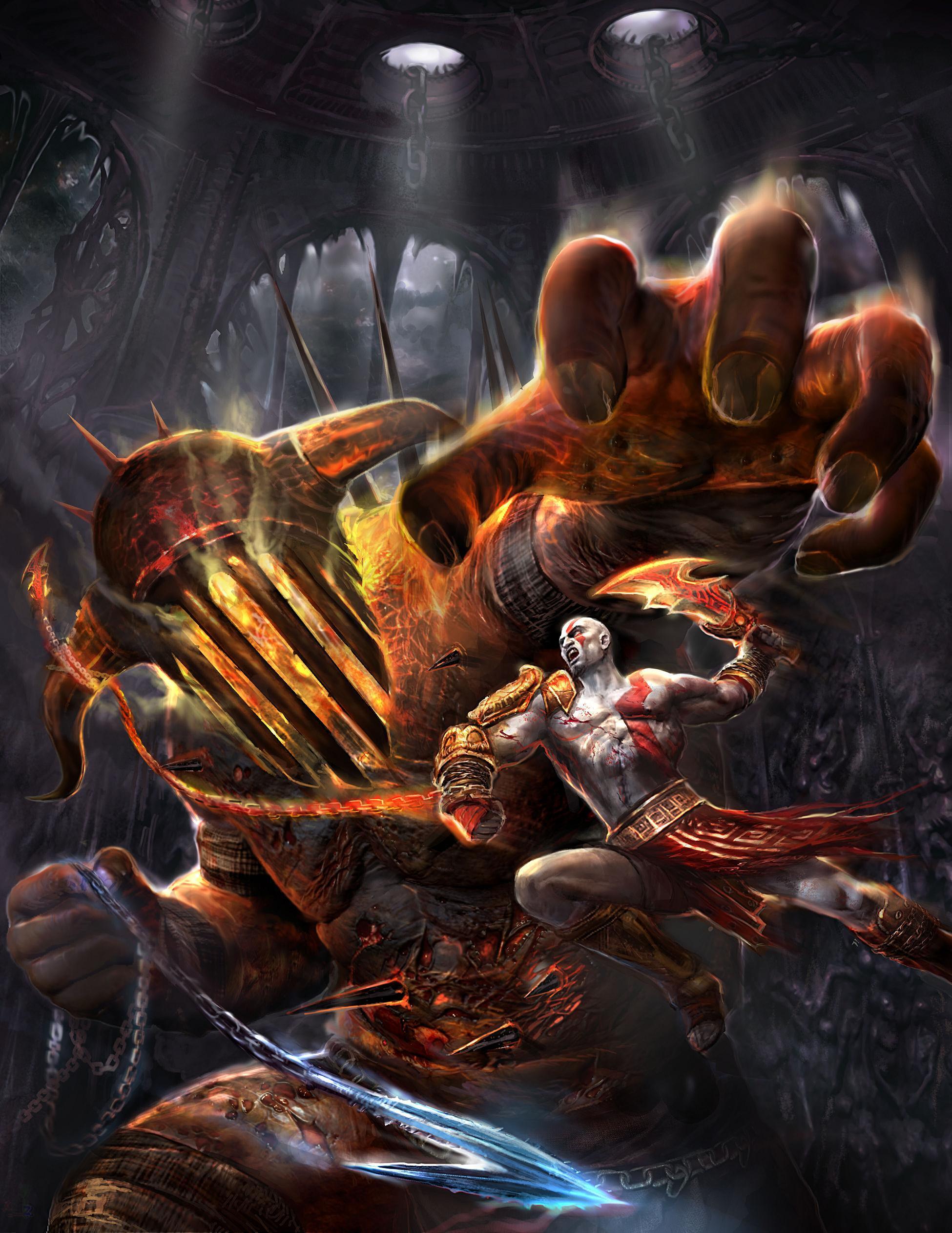 9824 baixar papel de parede Jogos, God Of War - protetores de tela e imagens gratuitamente