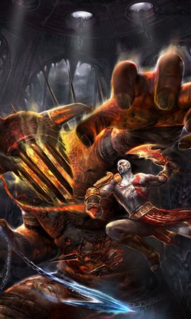 9824 download wallpaper Games, God Of War screensavers and pictures for free