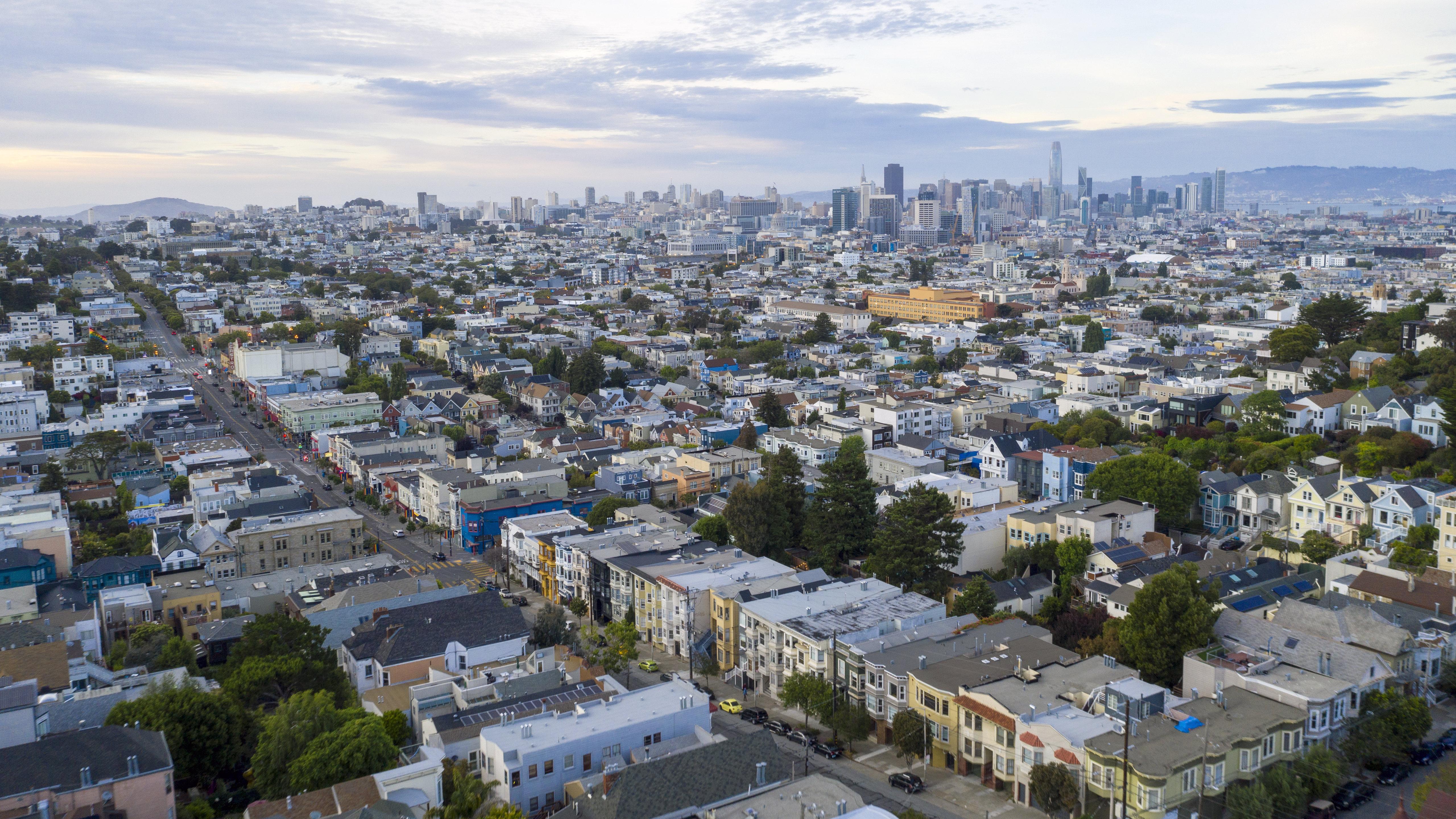 140113壁紙のダウンロード市, 都市, 建物, 屋根, サンフランシスコ, 米国-スクリーンセーバーと写真を無料で