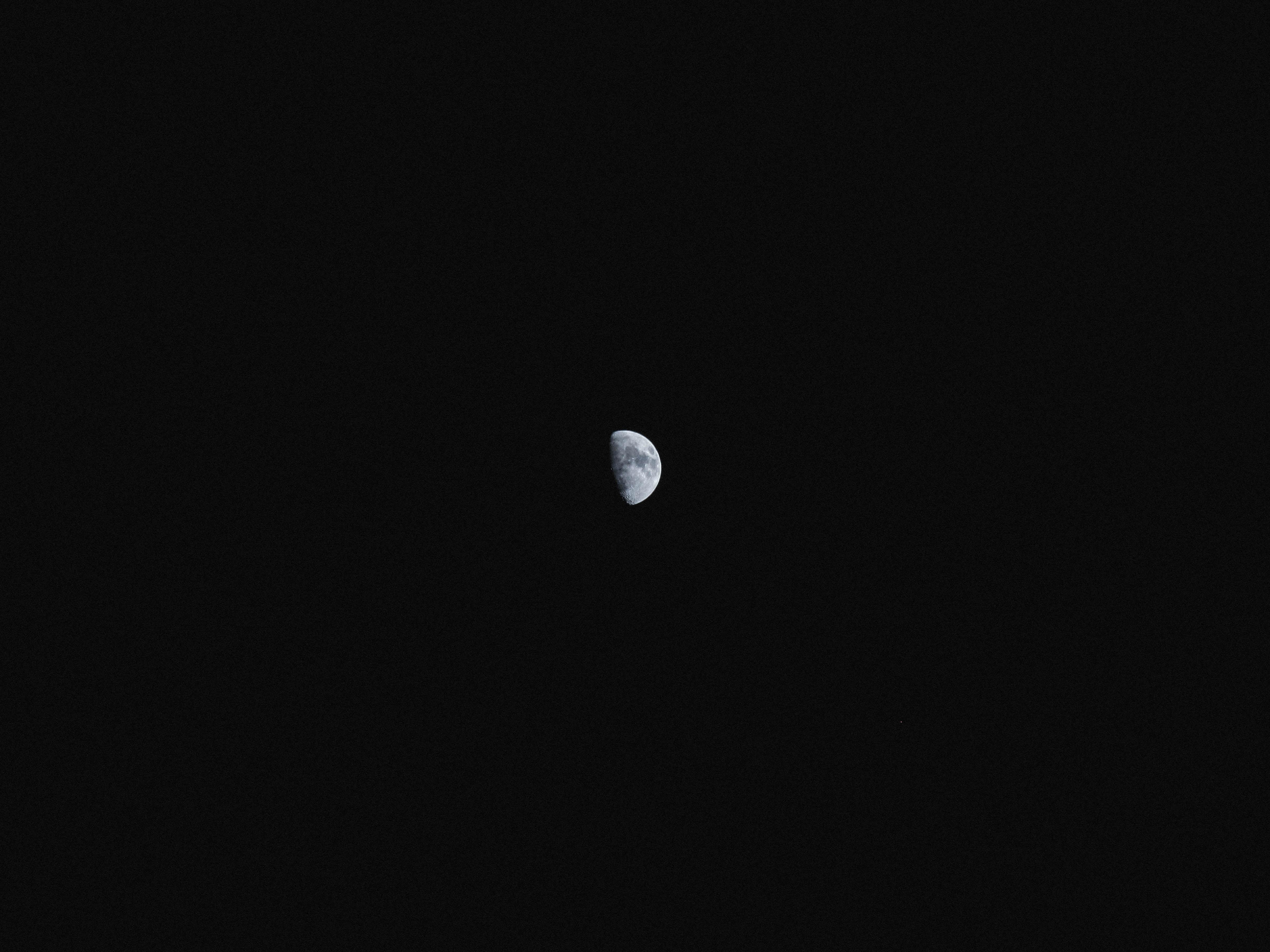117022 скачать обои Небо, Космос, Ночь, Луна, Темный, Полнолуние, Спутник - заставки и картинки бесплатно
