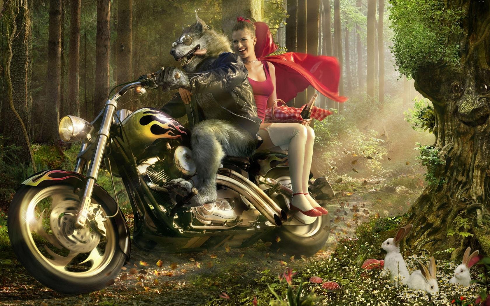 712 Bildschirmschoner und Hintergrundbilder Humor auf Ihrem Telefon. Laden Sie Humor, Mädchen, Märchen, Little Red Riding Hood Bilder kostenlos herunter
