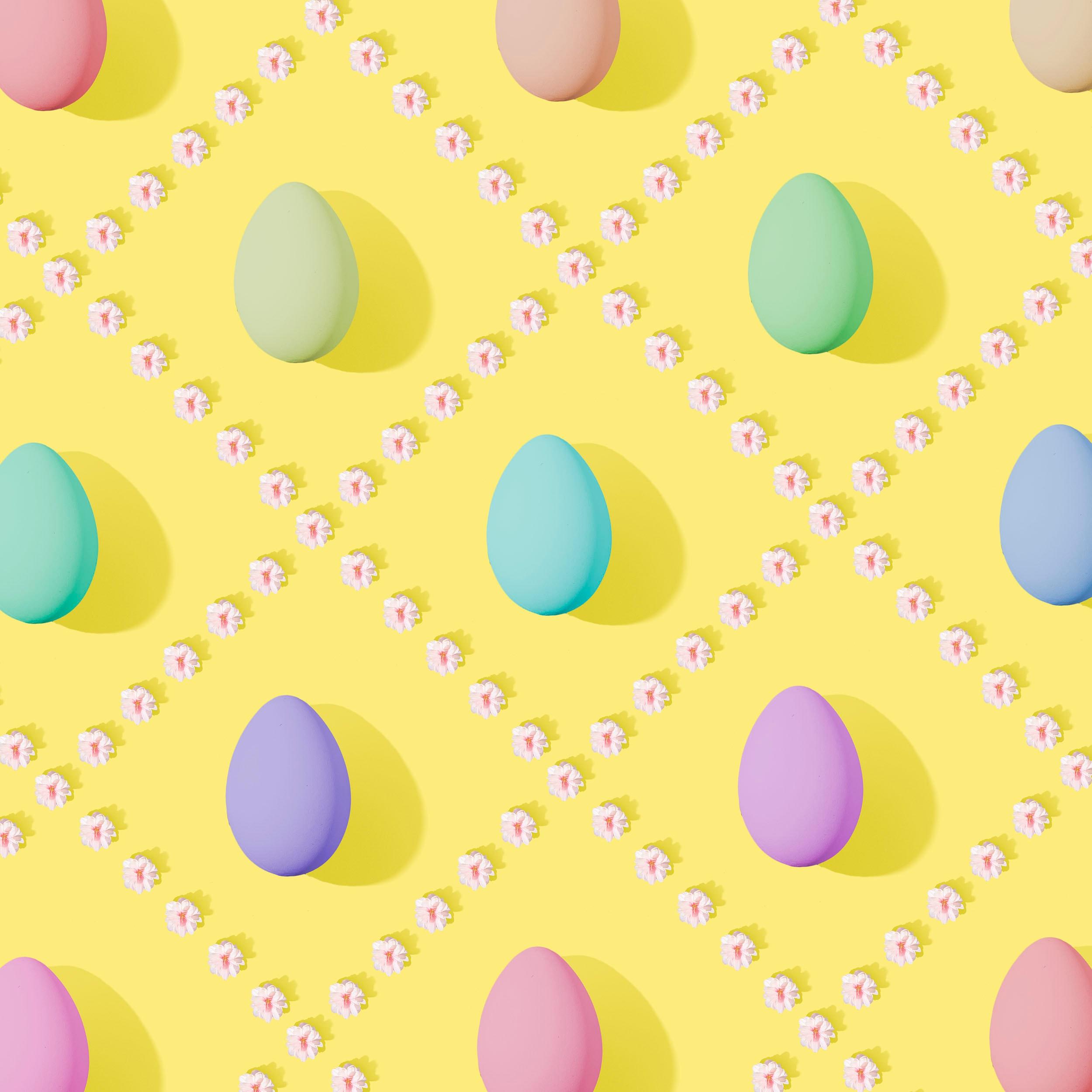 108999 descargar fondo de pantalla Vacaciones, Huevos De Pascua, Multicolor, Abigarrado, Pascua, Huevos: protectores de pantalla e imágenes gratis