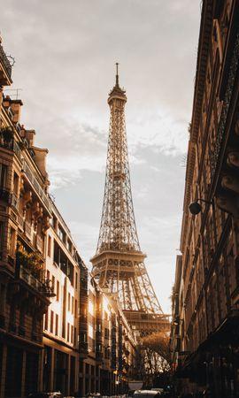 145543 baixar papel de parede Prédio, Edifício, Rua, Cidade, Paris, Arquitetura, Cidades, Torre Eiffel - protetores de tela e imagens gratuitamente