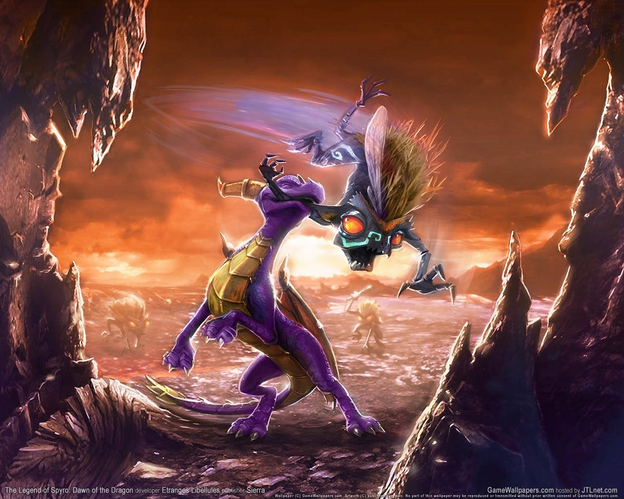 8050 download wallpaper Games, Dragons, Legend Of Spyro: Dawn Of The Dragon screensavers and pictures for free