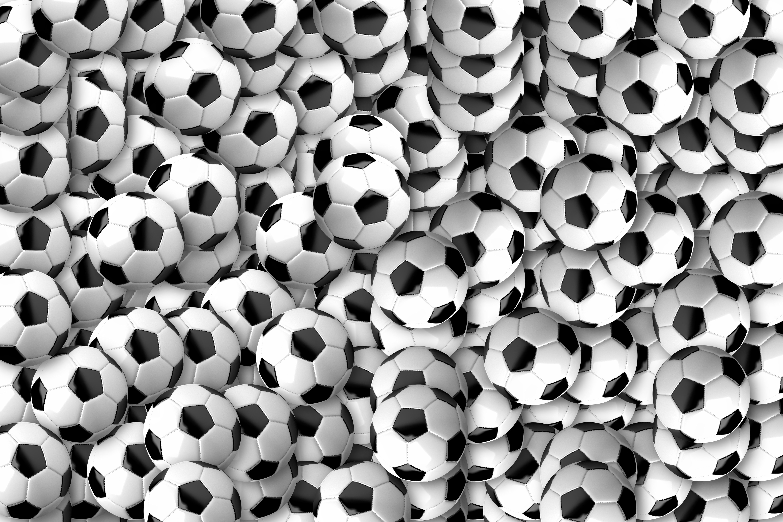 99251 скачать обои Спорт, Футбольные Мячи, Футбол, Текстура, Множество - заставки и картинки бесплатно