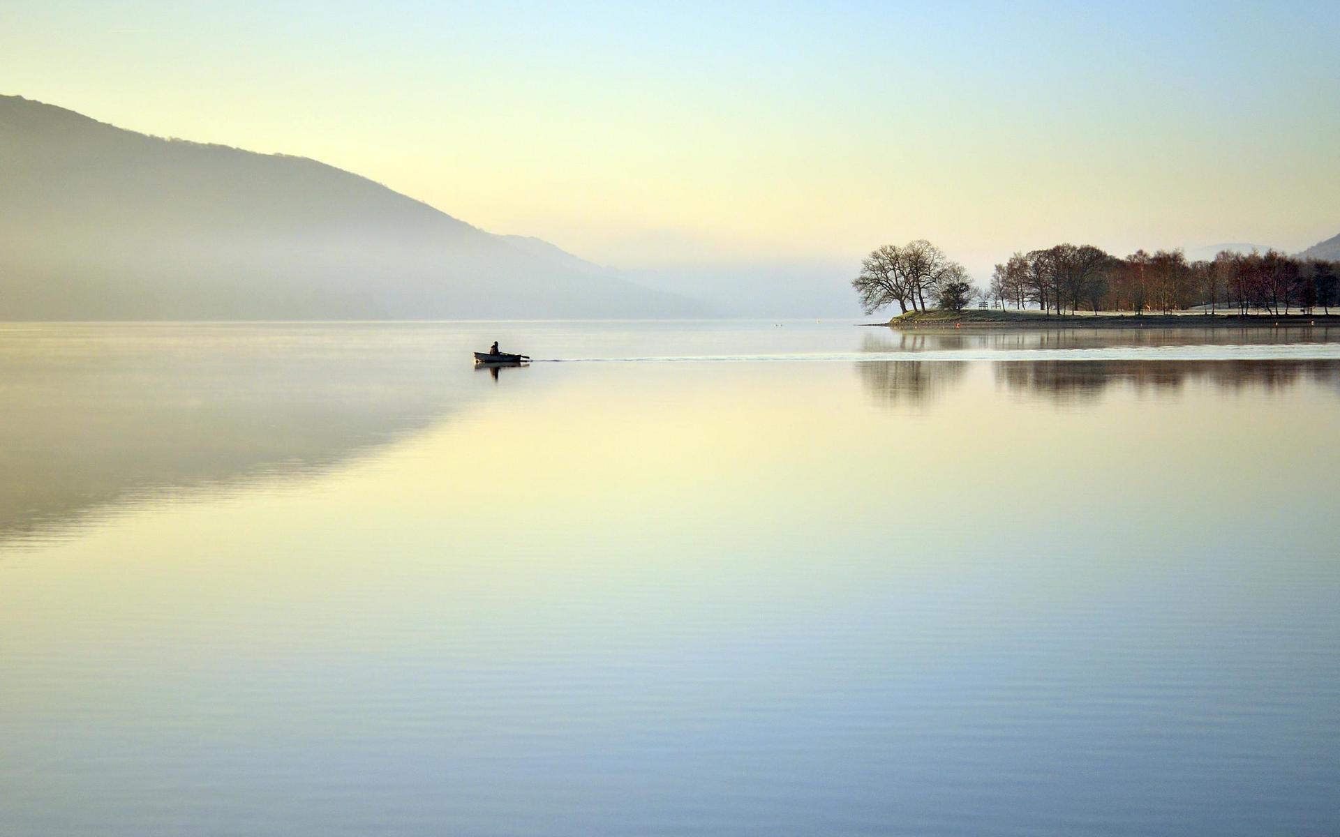 29806 скачать обои Лодки, Пейзаж, Река - заставки и картинки бесплатно