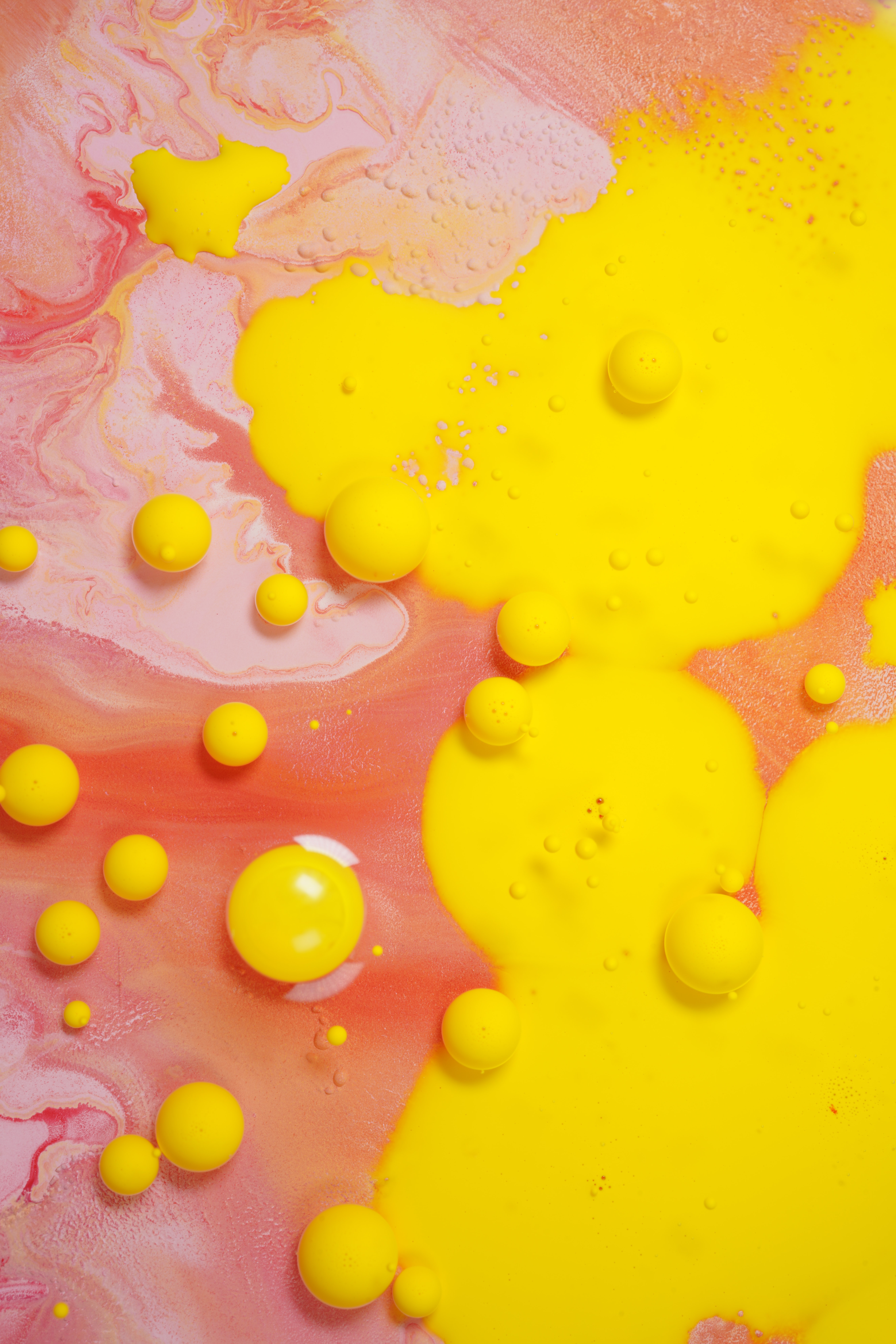 97400 download wallpaper Abstract, Paint, Divorces, Liquid, Bubbles screensavers and pictures for free