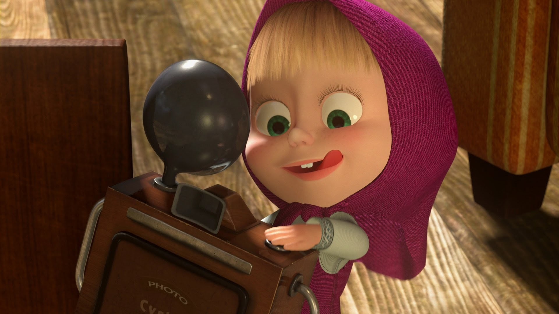41796 download wallpaper Cartoon, Pictures, Masha And The Bear screensavers and pictures for free