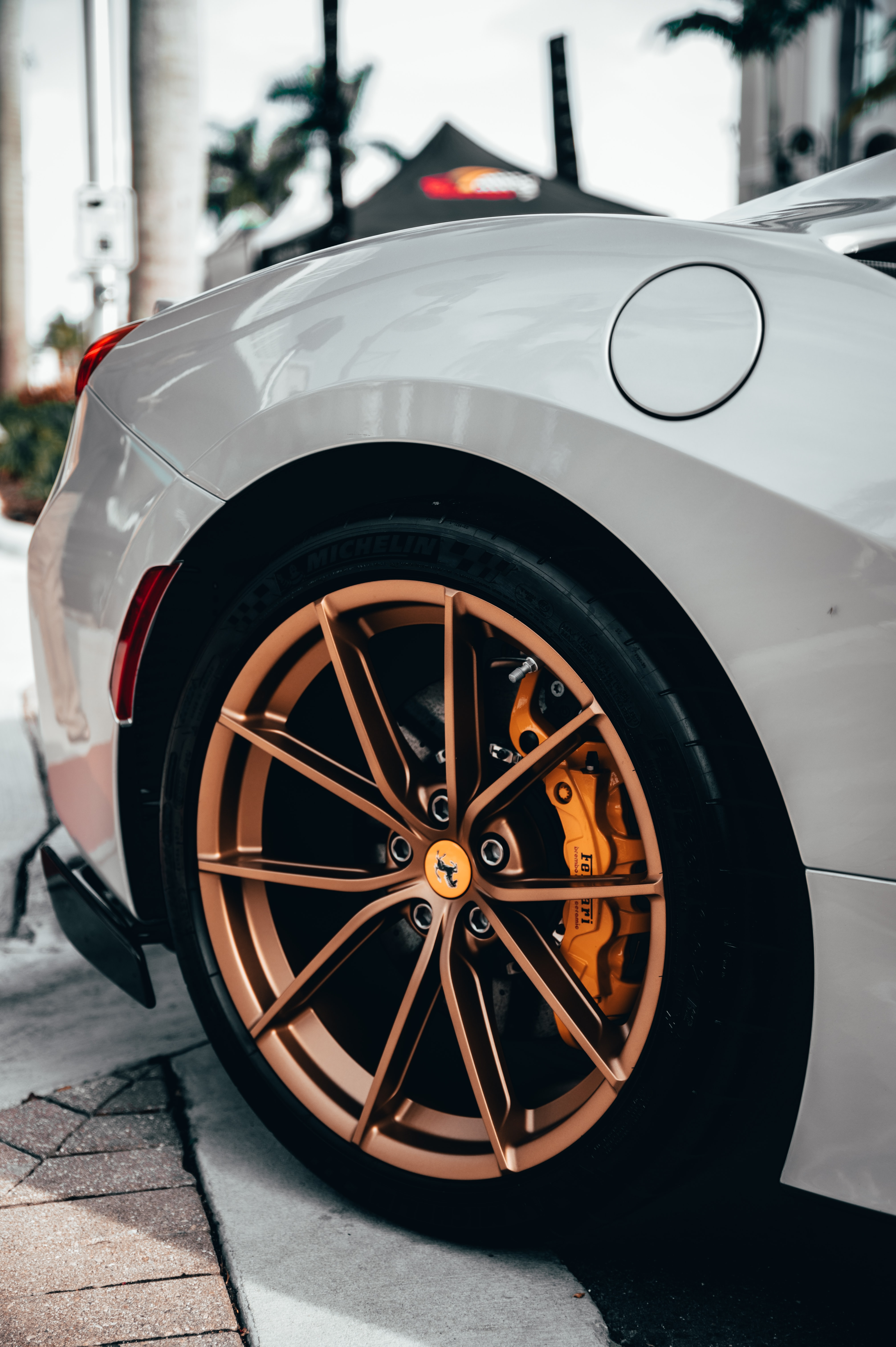 79801 download wallpaper Cars, Ferrari, Car, Machine, Sports Car, Sports, Wheel screensavers and pictures for free