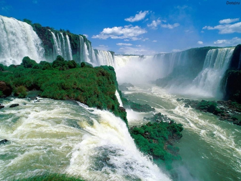 43152 download wallpaper Landscape, Nature, Waterfalls screensavers and pictures for free