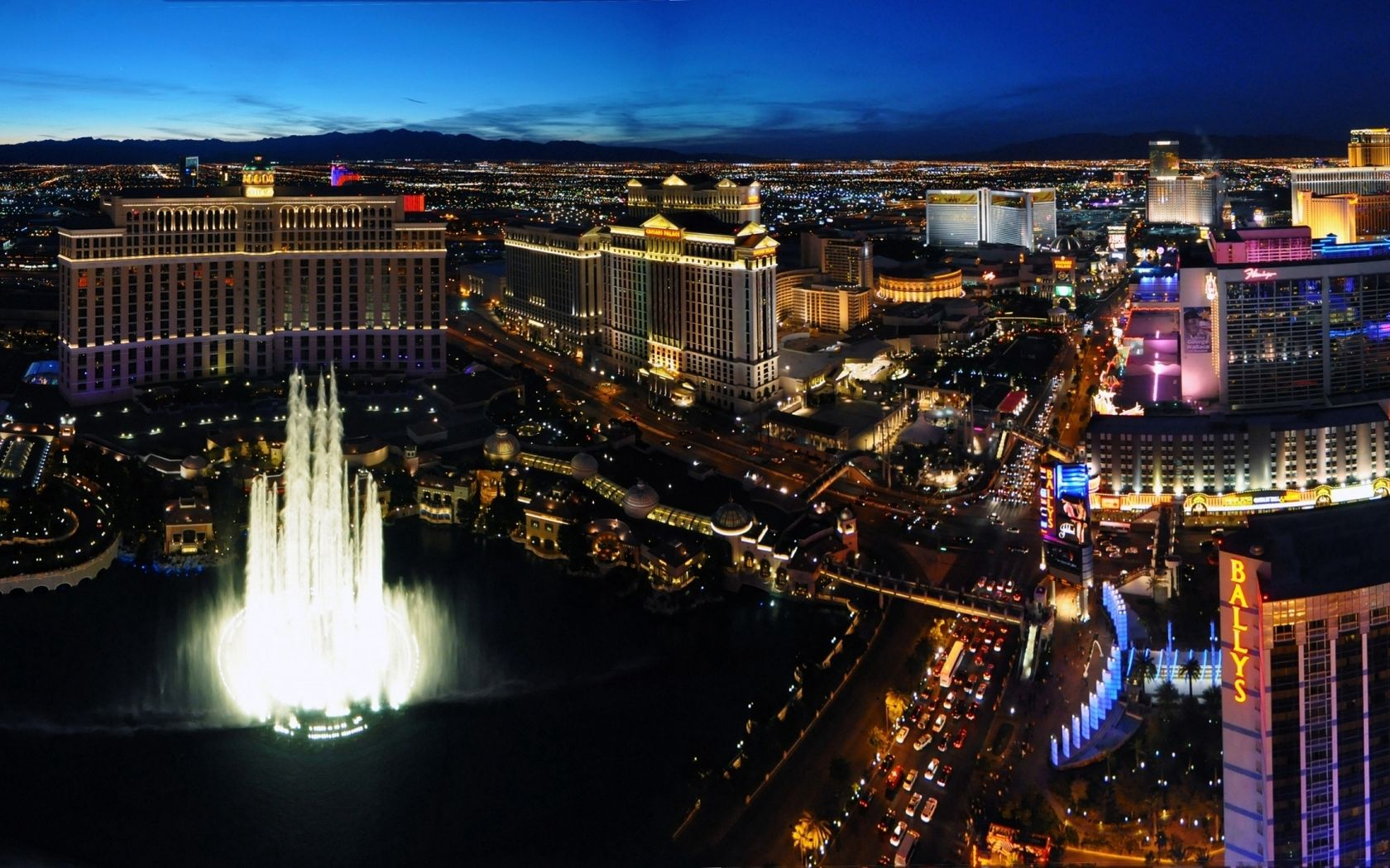 140701 Screensavers and Wallpapers Fountain for phone. Download Cities, Fountain, Nevada, Hotels, Vegas pictures for free