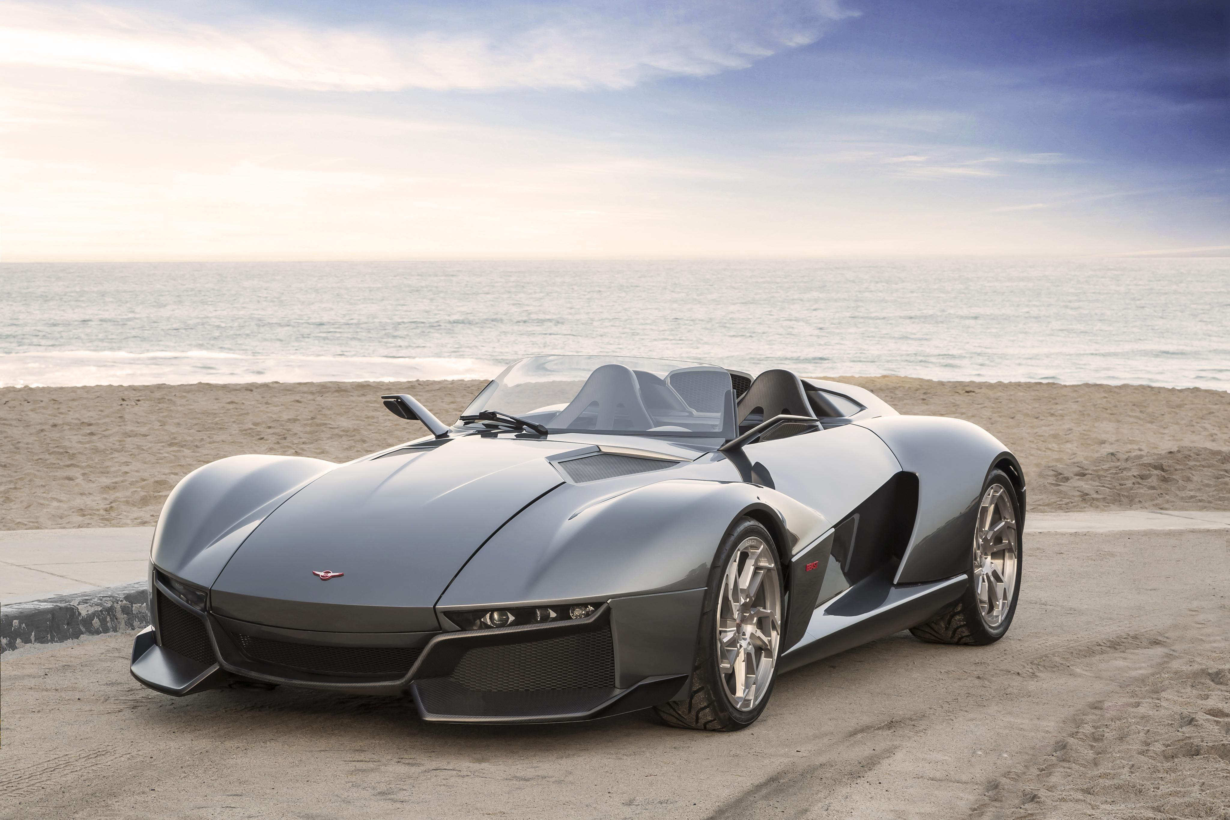 137764 Hintergrundbild herunterladen Cars, Tier, Seitenansicht, Supersportwagen, Rezvani-Motoren - Bildschirmschoner und Bilder kostenlos