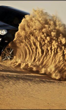 26403 скачать обои Транспорт, Машины, Порш (Porsche), Песок, Пустыня - заставки и картинки бесплатно