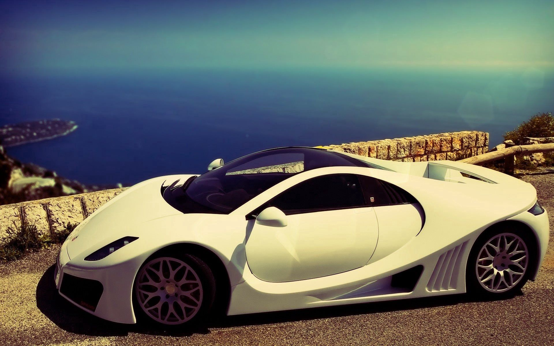 93515 download wallpaper Cars, Gta Spano, Auto, Side View, Supercar, Spain screensavers and pictures for free