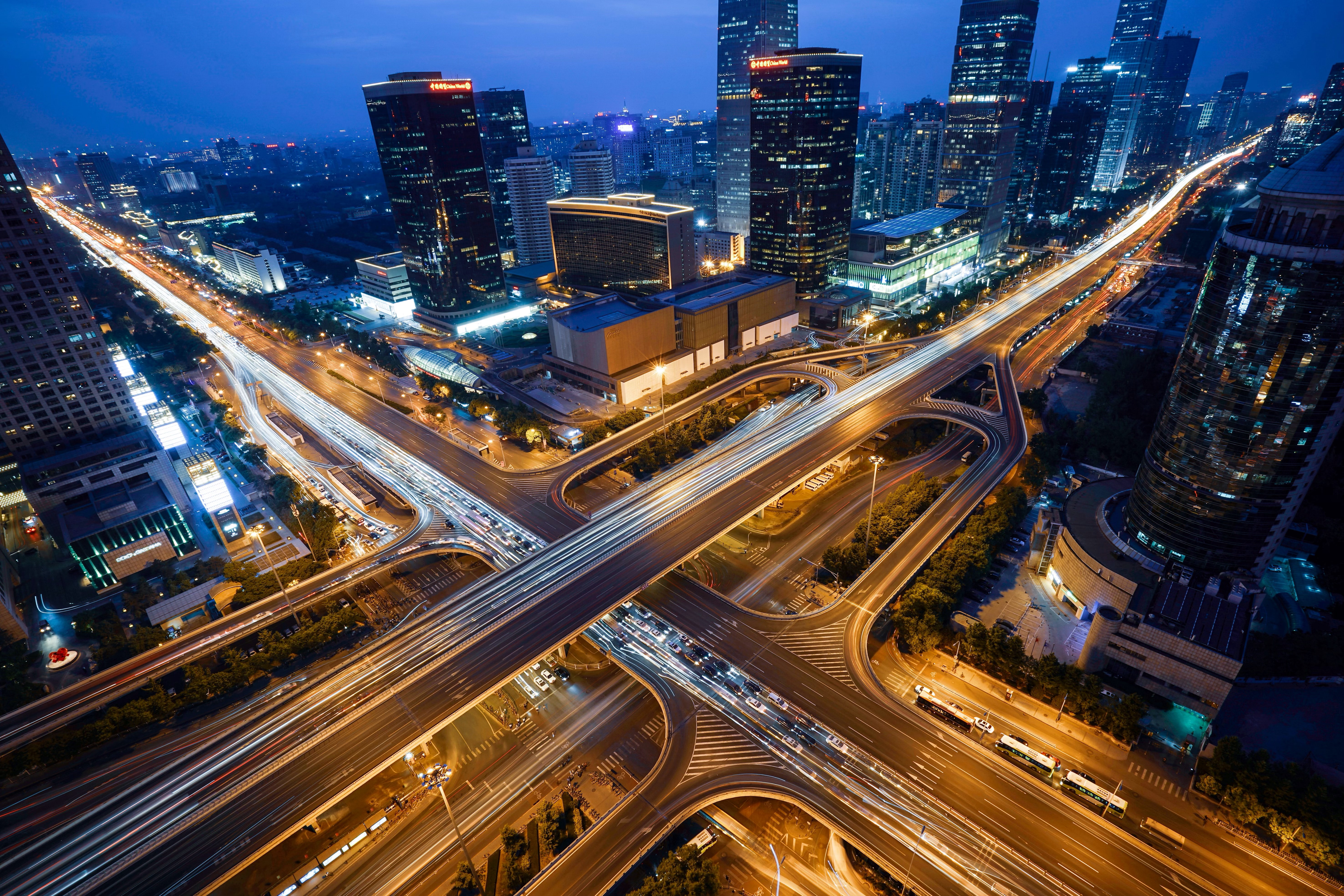 139024 Screensavers and Wallpapers Roads for phone. Download Cities, Roads, City, Building, View From Above, Megapolis, Megalopolis pictures for free